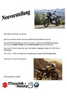Neuvorstellung BMW F750GS und BMW F850GS