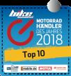 Auszeichnung zum Motorradhändler des Jahres 2018